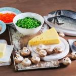 Vitamin D, Nahrung