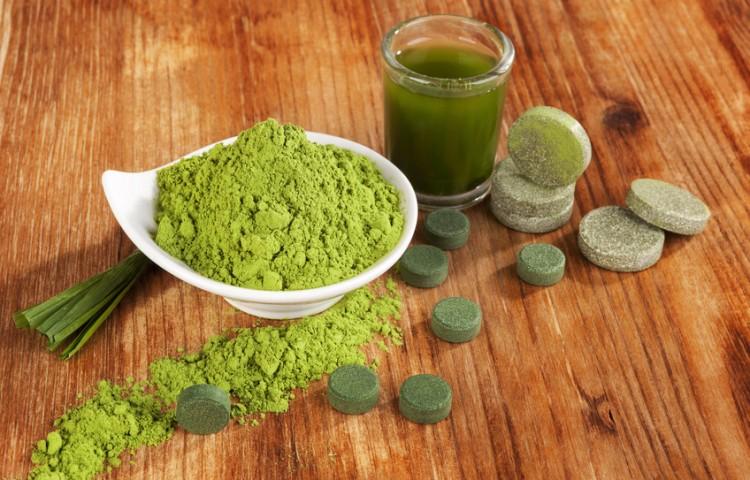 Spirulina Alge Superfood