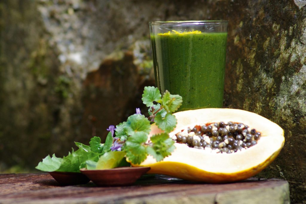Metall-Detox-Smoothie | Green Smoothie