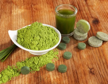 Spirulina Alge Superfood